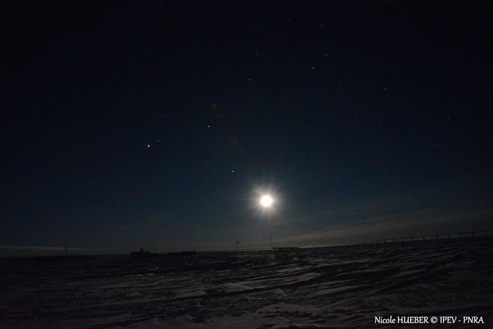 Concordia by Night: Stars & Milky Way