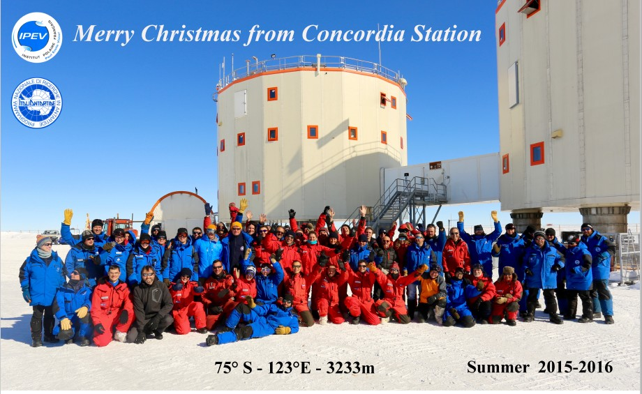 Merry christmas from concordia station